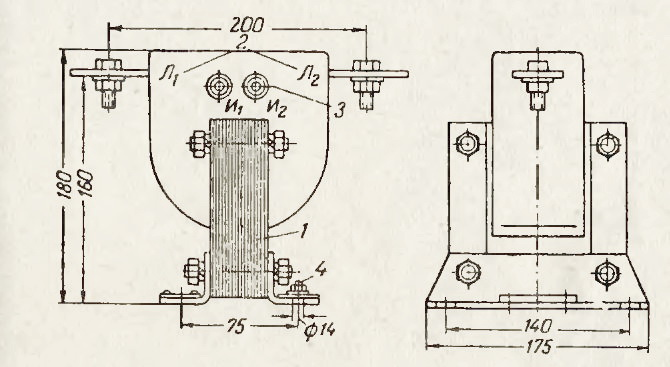 Трансформатор тока типа ТКЛ3