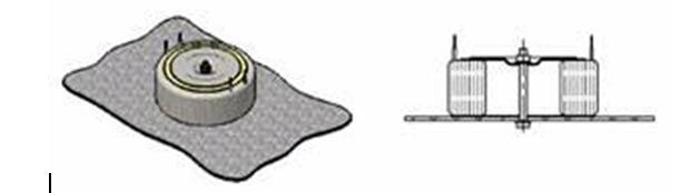 Крепление тороидального трансформатора пластиной