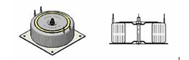 Крепление тороидального трансформатора на стальной пластине