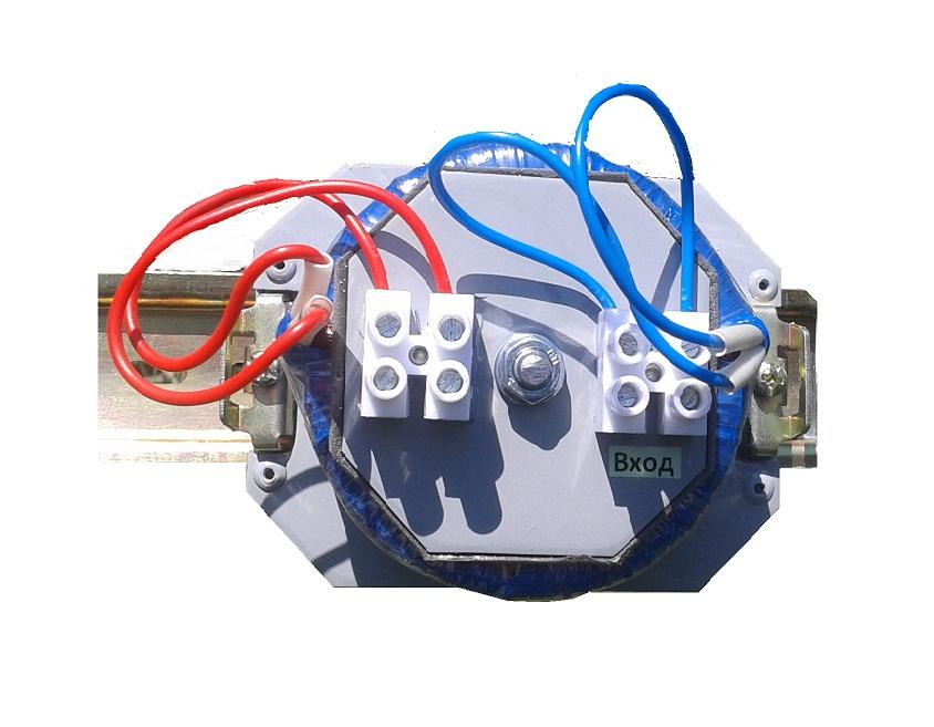 Трансформатор на динрейке