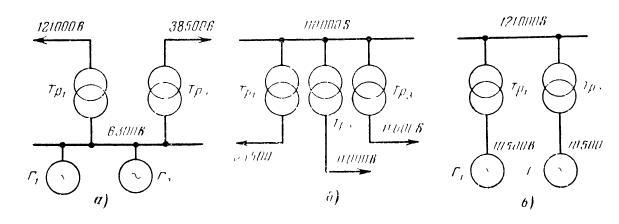 Схема параллельного включения трансформаторов