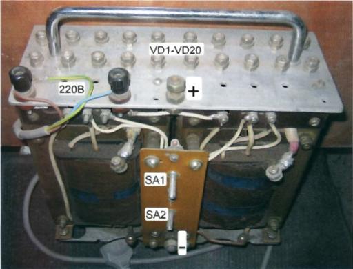 Сварочный аппарат на базе трансформатора