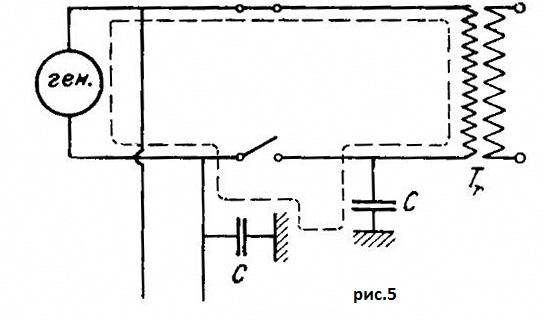 Резонанс в цепи с трансформатором