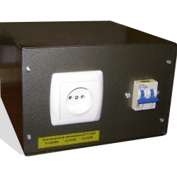 Трансформатор 1,2кВА в корпусе 220-112В