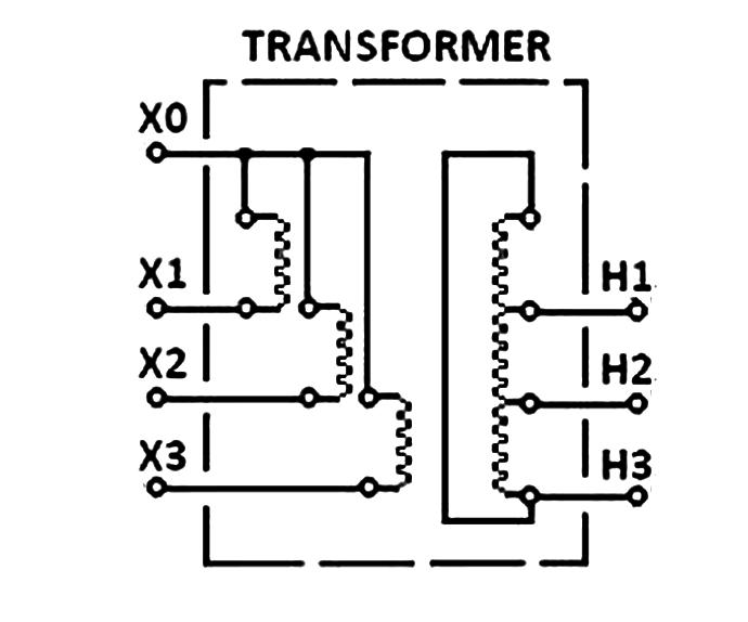 Полярность трехфазного трансформатора
